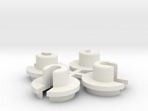 Team Losi Jrx-2 Shock bottom PN# a-5000 in White Natural Versatile Plastic