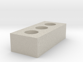 1/12 Scale Brick in Natural Sandstone