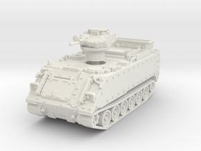 M113AS4 APC (No Skirts) 1/87 in White Natural Versatile Plastic