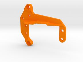 Mini Front 4-link Plate in Orange Processed Versatile Plastic