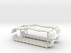 1/64th Tracks for Amercom Small Cat Bulldozer in White Natural Versatile Plastic