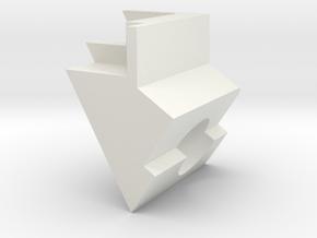 ExcitationPathHeatShield_bottom in White Natural Versatile Plastic