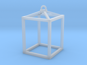 Hanging Lantern (no candles) in Smooth Fine Detail Plastic