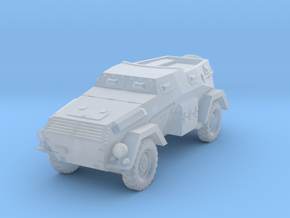 Sdkfz 247 Ausf B armored car WW2 in Smoothest Fine Detail Plastic: 1:100