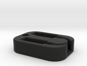 Lightning to Headphone Holder in Black Natural Versatile Plastic