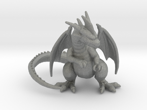 Red Dragon 6mm monster Infantry miniature model in Gray PA12