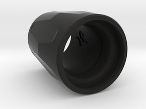 LP-Feed-Cap-Deep-Clamp-Flats in Black Natural Versatile Plastic