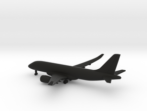 Bombardier CSeries 100 in Black Natural Versatile Plastic: 1:500