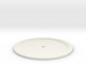 Sarah's Music Box - Disc in White Natural Versatile Plastic