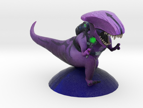 Faceless Rex in Chronosphere in Natural Full Color Sandstone: Small