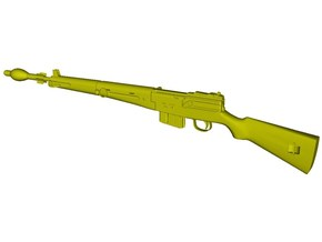 1/15 scale MAS-49 rifle & AP Mle-48 grenade x 1 in Smooth Fine Detail Plastic