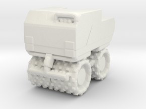 Trench Compactor 1/72 in White Natural Versatile Plastic