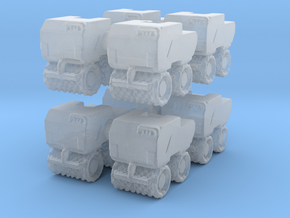 Trench Compactor (x8) 1/285 in Smooth Fine Detail Plastic