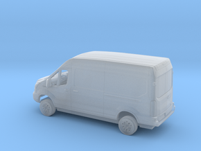 1/148 2018 FordTransit Right Hand Dr. Delivery Kit in Smooth Fine Detail Plastic