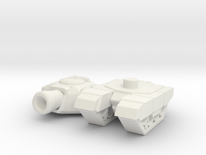tiny tank in White Natural Versatile Plastic