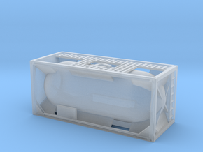 20ft Tank Container 1/220 in Smooth Fine Detail Plastic