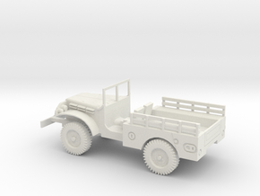 1/48 Scale Dodge WC-51 Troop in White Natural Versatile Plastic
