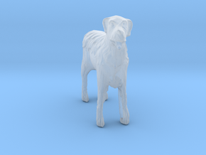 O Scale Wired Terrier in Smooth Fine Detail Plastic