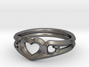 Hearts in Polished Nickel Steel