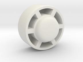 Lagerkörper in White Natural Versatile Plastic