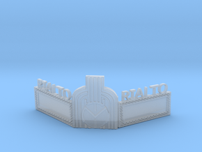 Rialto Marquee HO Scale in Smooth Fine Detail Plastic