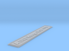 Nameplate USS Kongo NCC-1710 (10 cm) in Smoothest Fine Detail Plastic