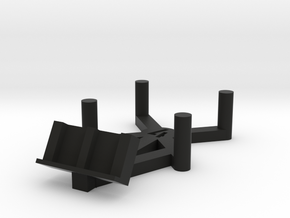 dN Stand v1 (Size 3 & 4) in Black Natural Versatile Plastic: Medium