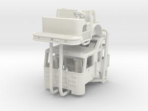 1/87 2002 Philadelphia KME Heavy Rescue Cab UPDATE in White Natural Versatile Plastic