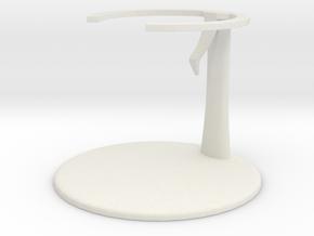 Lugia Chess Piece Stand in White Premium Versatile Plastic