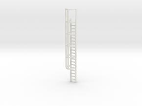 20ft Cage Ladder 1/35 in White Natural Versatile Plastic