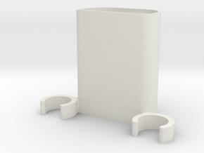 Zocus - Blend Micro Box in White Natural Versatile Plastic