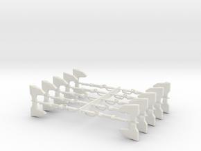 MasterMakedAxe in White Natural Versatile Plastic