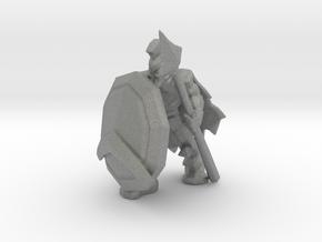 Leonidas Spartan 300 miniature fantasy games rpg in Gray PA12