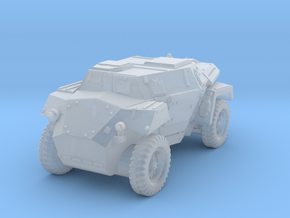 Humber Scout Car in Smoothest Fine Detail Plastic: 1:100