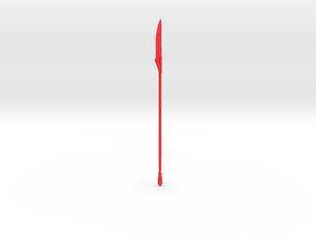 "PRHI Star Wars Vibro-voulge TVC 3 3/4"" Scale in Red Processed Versatile Plastic"