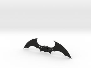 Arkham Asylum Batarang in Black Strong & Flexible