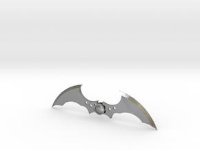 Arkham Asylum Batarang in Natural Silver