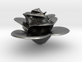Rose in Polished Silver