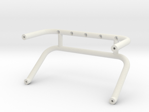USA-1 Original roll bar - 70 Chevy body in White Natural Versatile Plastic