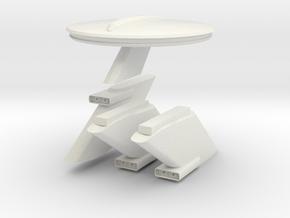 1000 TOS neck parts set in White Natural Versatile Plastic