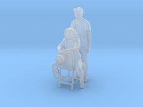 Printle C Couple 680 - 1/87 - wob in Smooth Fine Detail Plastic