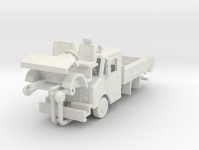 1/64 Conrail GMC/Grumman work truck in White Natural Versatile Plastic
