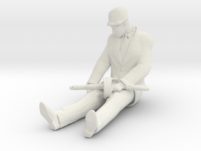 Printle C Homme 2942 - 1/24 - wob in White Natural Versatile Plastic