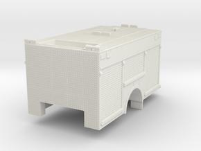 1/87 Rosenbauer Miami Dade SQUAD body in White Natural Versatile Plastic