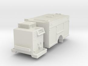 1/64 Rosenbauer Miami Dade SQUAD body and pump in White Natural Versatile Plastic