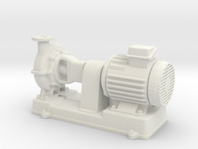 Motor Pump 1/43 in White Natural Versatile Plastic