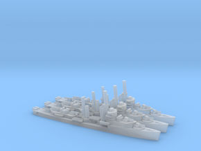 US Mahan-class Destroyer (x3) in Smooth Fine Detail Plastic