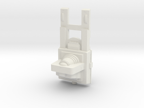 1000 Automated Tug TOS in White Natural Versatile Plastic