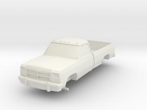 Dodge in White Natural Versatile Plastic