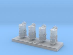 Grappe de 4 compresseurs Westinghouse Bi-Compound in Smooth Fine Detail Plastic